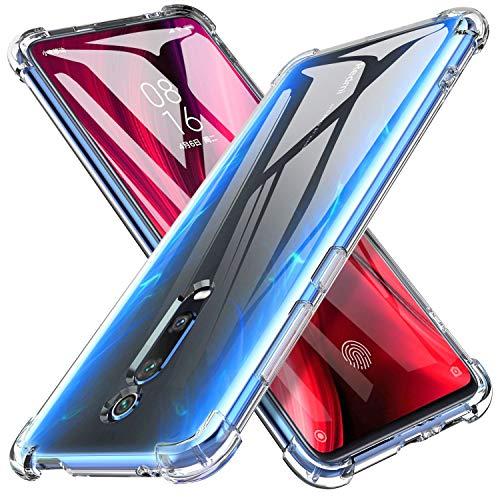 iBetter Slim Thin Protettiva per Xiaomi Mi 9T / Xiaomi Mi 9T PRO Cover,Morbido TPU,Antiurto Morbida Silicone Trasparente Custodia, per Xiaomi Mi 9T / Xiaomi Mi 9T PRO Smartphone.Trasparente