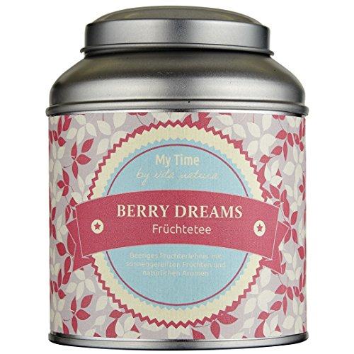My Time Berry Dreams, Früchtetee Erdbeer-Himbeer, 1er Pack (1 x 120 g)