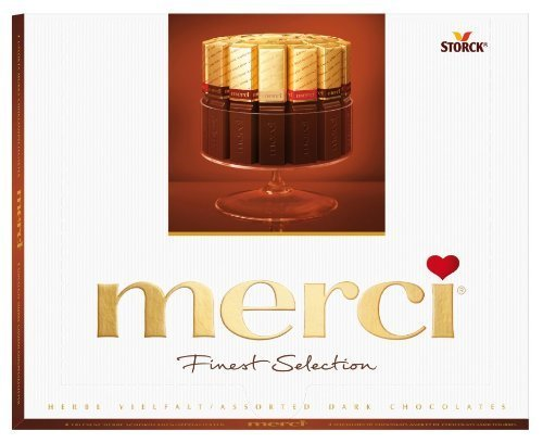 Merci European Chocolates, 7 Ounce (Pack of 4)
