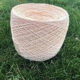 LINLO 250 g/Lote de Hilo orgánico Colorido para Tejer Cuerda de Paja de Rafia Sombrero para el Sol de Ganchillo a Mano Material de Manualidades para Equipaje DIY
