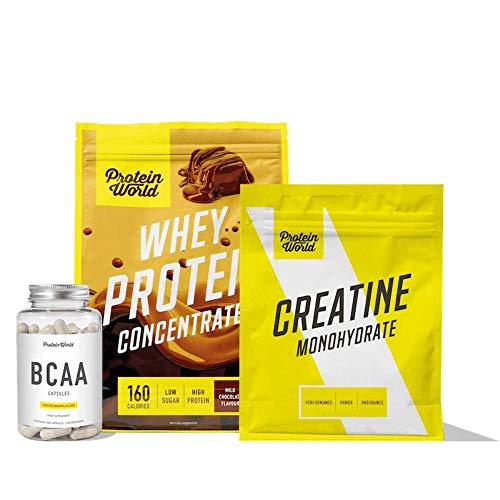 Protein World - FIT Collection - Selection of Strength, Muscle and Performance Enhancing Supplements Cookies & Cream
