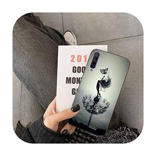 Happy-horse - Funda para Huawei Y5 II Y6 II Y5 Y6 Y6 Y7 Prime Y7Plus Y9 2018 2019-a4-For Y6 2018 2018 2019-a4-For Y6 2018