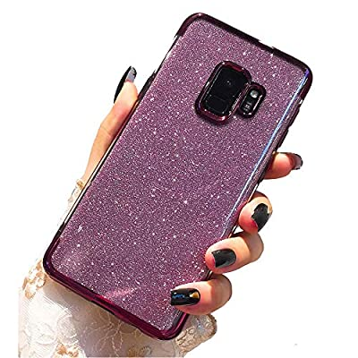 Miagon 2-1 Glitter Case for {Huawei Mate 20 Pro},Bling Sparkle Crystal Slim Soft TPU Detachable Electroplating Technology Phone Cover Bumper Case Cover