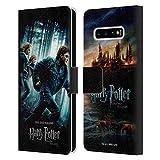 Head Case Designs Officiel Harry Potter Groupe Deathly Hallows VII Coque en Cuir à Portefeuille...