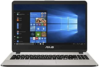 Asus Vivobook X507UA-BR444T Laptop (Gray) - Intel i3-7020U 2.0 GHz, 4 GB RAM, 1000 GB HDD, Intel UHD shared, 15.6 inches LED , Windows 10, Eng-Arb-KB