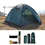 Best Four Season Tents - camppal Professional 3-4 Person 4 Season Mountain Tent Review