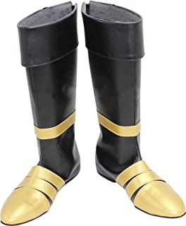 Mingchuan Whirl Cosplay Boots Shoes for Final Fantasy 7 Vincent Valentine