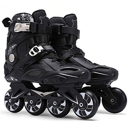 Inline-Skates Für Jungen Und Mädchen, Außen Professionelle Männer/Frauen-Inline-Rollschuhe Oder Bequeme Freestyle Skating-Schuhe Für Jugendliche,A,39