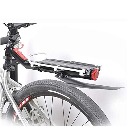 New GBZZ Mountain Bike Rack with Fender Bicycle Luggage Shelf Cycling Rear Seat Cycling Equipment Bi...