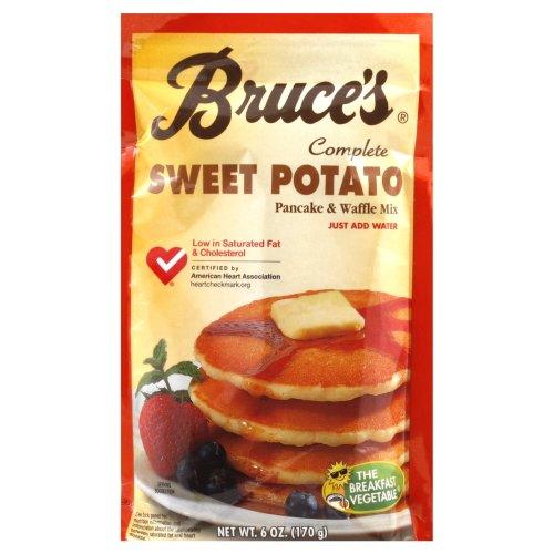 Bruce's Sweet Potato Pancake Mix 6 oz.(Pack of 3)