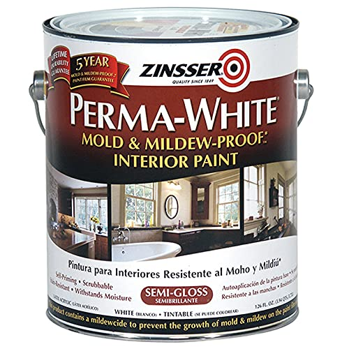 Product Image of the Rust-Oleum 02761 Perma-White Mold & Mildew Proof Interior Paint, SemiGloss Finish