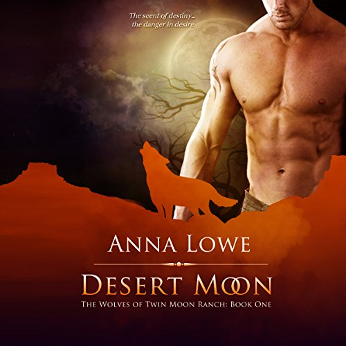 Desert Moon audiobook cover art