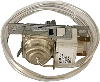 Refrigerator Cold Control Thermostat 2198202 2198201 Fit for Refrigerators Compatible with AP3037004, WP2198202 & WP2198202VP