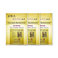 Golden Sunshine - Far Infrared Hot Herbal Patch - 3 Pack by Golden Sunshine