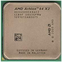 AMD Athlon 64 X2 6000+ Windsor 3.0GHz 2 x 1MB L2 Cache Socket AM2 125W Dual-Core Processor