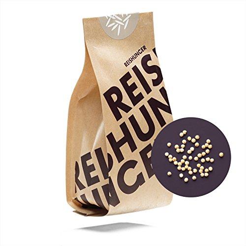 Reishunger Geschälte Premium BIO Goldhirse (5 x 600g) Erhältlich in 200g bis 9kg – Geschälte Premium Bio Goldhirse