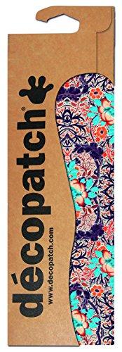Decopatch Papier No. 695 (violett orange blau Oriental, 395 x 298 mm) 3er Pack