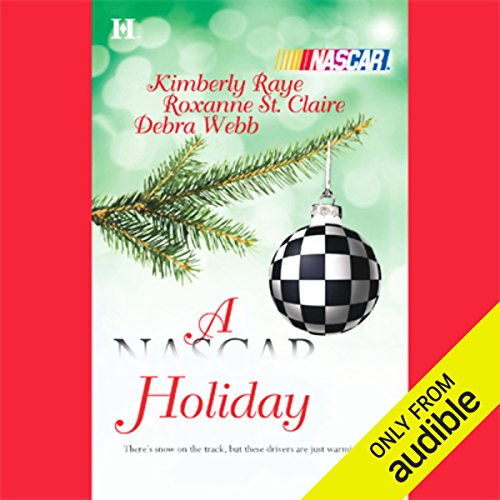 A NASCAR Holiday audiobook cover art