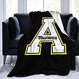 ETOB Appalachian State University Ultra-Soft Micro Fleece Blanket Soft Warm Fuzzy Plush Lightweight Cozy Couch Bed