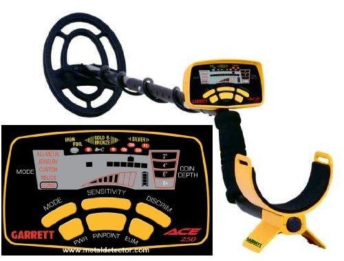 Garrett ACE 250 Metal Detector, Giallo