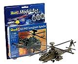 Revell Modellbausatz 64046 - Model Set AH-64D Longbow Apache im MaÃstab 1:144