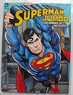 DC Comics Superman 64 Page Coloring and Activity Book.