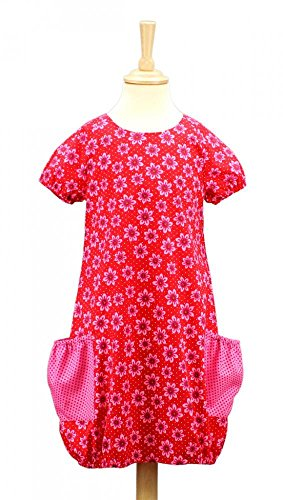 Schnittquelle Kinder-Schnittmuster: Kleid Milli (Gr.134-152) - Mehrgrößenschnittmuster (jeweils 4 Größen) verfügbar von 86 bis 176
