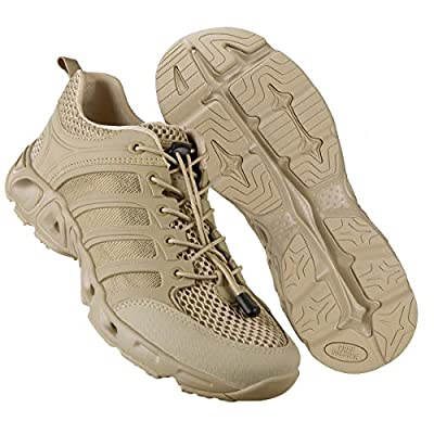 FREE SOLDIER Outdoor Men's Quick Drying Lightweight Sport Hiking Water Shoes (Sand-Upgrade 11.5 M US)
