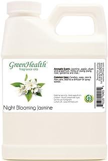 16 fl oz Night Blooming Jasmine Fragrance Oil (Plastic Jug w/Cap) - GreenHealth