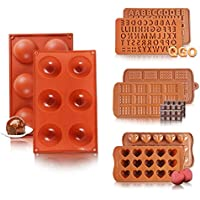 Yueyan Large 6 Holes Silicone Molds For Chocolate Bomb
