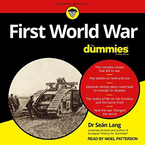 First World War for Dummies cover art