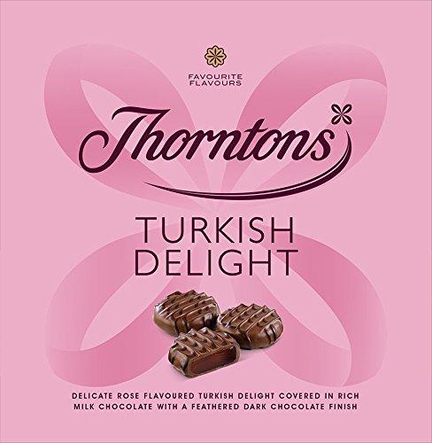 Thorntons Chocolate Favorito Sabores Ballotin (delicias turcas)