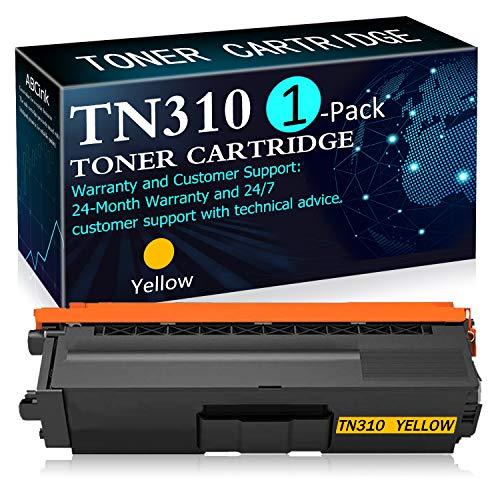 1 Pack Yellow TN310Y Toner Cartridge Replacement for Brother HL-4150CDN 4140CW 4570CDW 4570CDWT MFC-9640CDN 9650CDW 9970CDW Printers Toner Cartridge