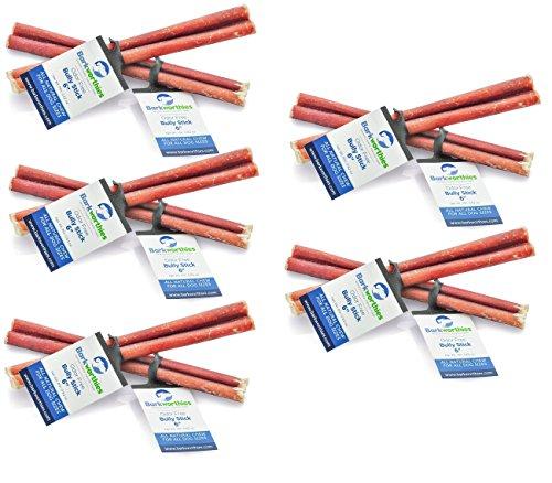"Barkworthies Bully Stick - Odor Free - Standard 6"" (Pack of 10)"