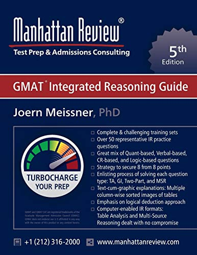 Manhattan Review GMAT Integrated Reasoning Guide: Turbocharge your Prep