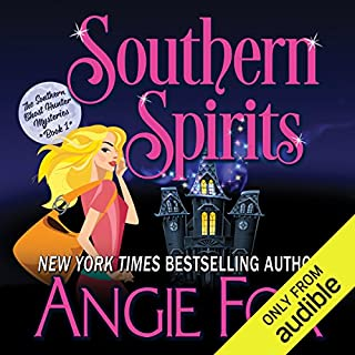 Southern Spirits     Southern Ghost Hunter Mysteries, Book 1              By:                                                                                                                                 Angie Fox                               Narrated by:                                                                                                                                 Tavia Gilbert                      Length: 7 hrs and 33 mins     11 ratings     Overall 4.7