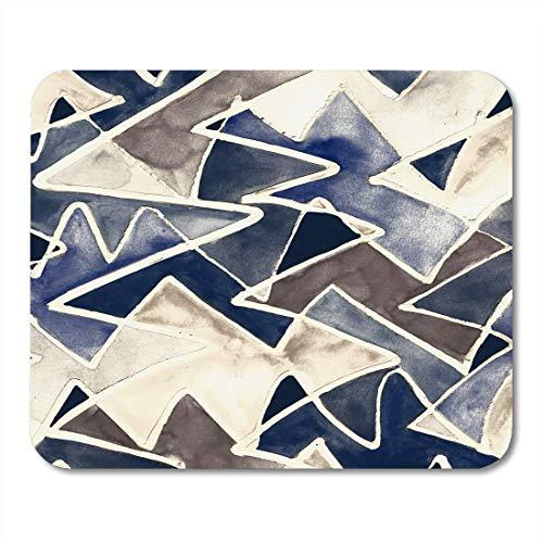 Mauspads Abstraktion Geometrisch Bunt Modern Abstrakt Geometrisch Künstlerisch Gemischte Technik Grafiker Mauspad für Notebooks, Desktop-Computer Mausmatten, Büromaterial
