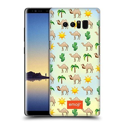 Head Case Designs Oficial Emoji Camello Animales Carcasa rígida Compatible con Samsung Galaxy Note8 / Note 8