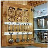 funwallart Set Kitchen Baking Cooking Cups Spoons Vinyl Decals - Measuring CONVERSIONS