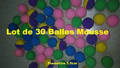 Lots de 30 Balles Mousse