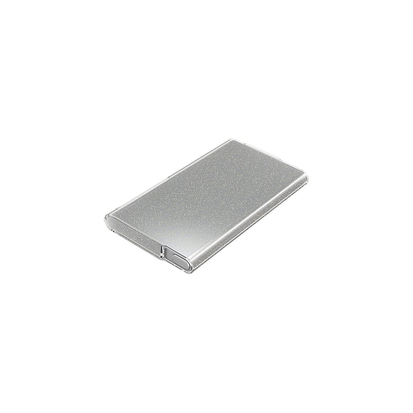 チラチラする成長ダッシュiBUFFALO iPod nano(2012年発表モデル)専用 ラメソフトケース 液晶保護フィルム付 クリア BSIP12NCTLCR