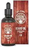 Beard Oil Conditioner - All Natural Sandalwood...