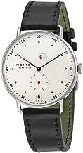 Nomos Metro Galvanized White Dial Mens Watch 1101
