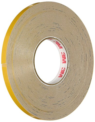3M Scotchlite Reflective Striping Tape, Yellow, .25-Inch by 50-Foot by 3M
