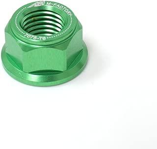 Green CNC Rear Sprocket Nuts Set For Kawasaki Z1000 Z900 Z650 ZX-10R Ninja 300 250 ZX-6R 636 ZX1000 Ninja 650R ER6N ER6F
