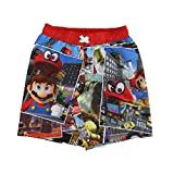 Mario Brothers Boys Swim Shorts (6)