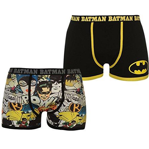 Character Herren Boxershort Gr. XXL, Batman 2 Pack Boxers