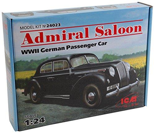 ICM 024023 - 1/24 Opel Admiral Saloon Modellbausatz