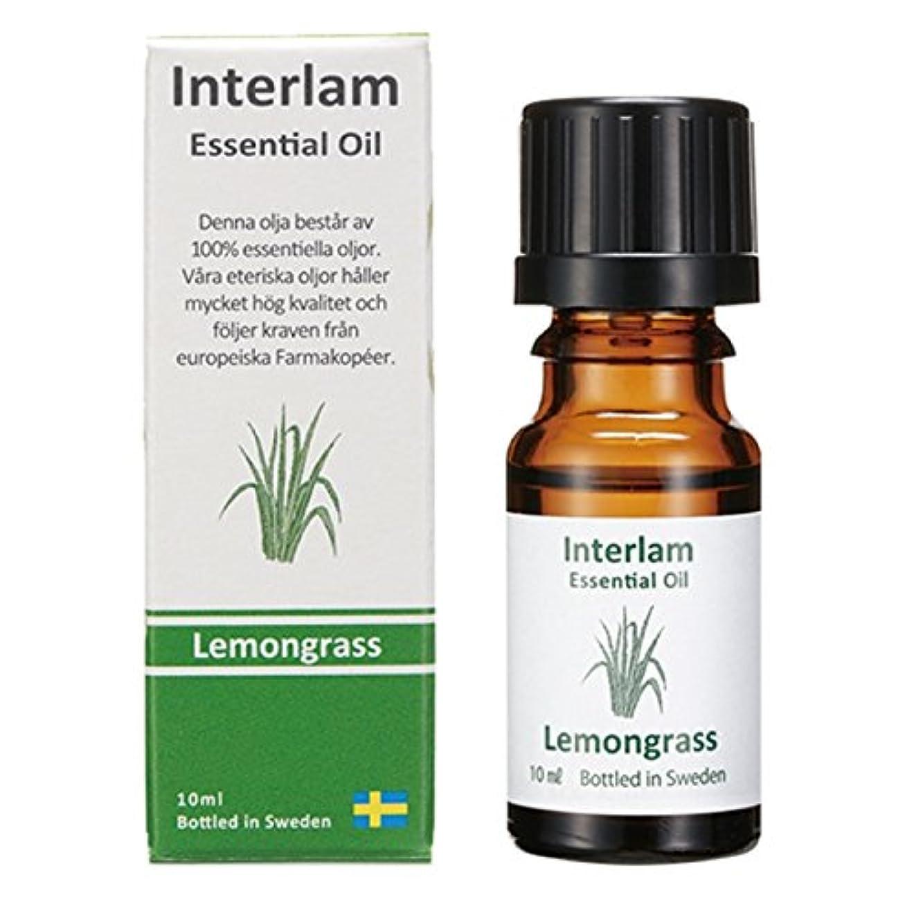 リー葉を拾う胃Interlam エッセンシャルオイル レモングラス 10ml