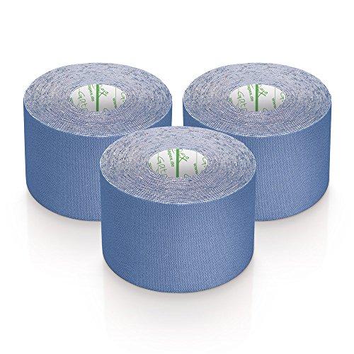 3 Rollen Gatapex Kinesiologie Tape 5,5m x 5cm